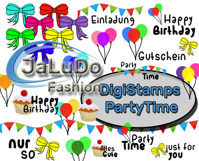 #PartyTime DigiStamps